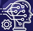 Icoon dat artificial intelligence weergeeft